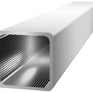 Vierkant aluminium